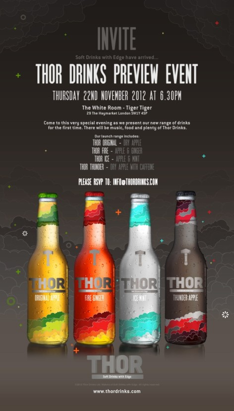 thor drinks invite 2012